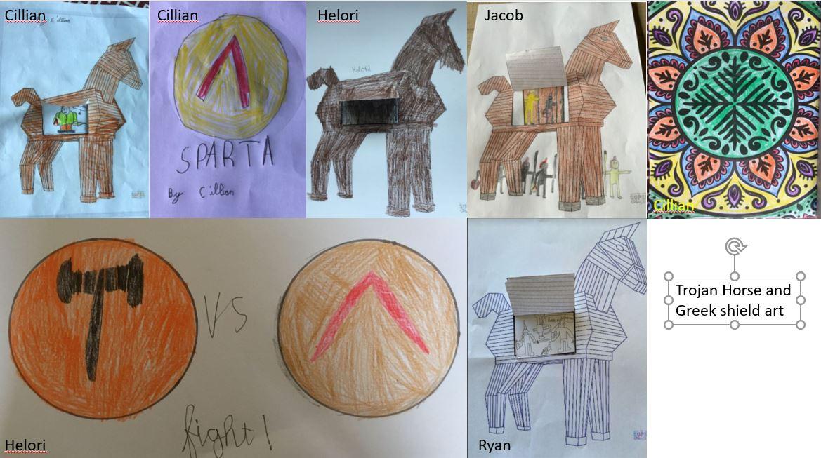 Trojan and Greek Art